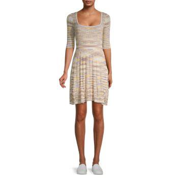 Мини-платье в полоску M Missoni