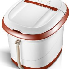 Carepeutic KH305B Сенсорный экран Oxy Energized Water Jet Foot & Leg Spa Bath Massager - Brown & White Carepeutic