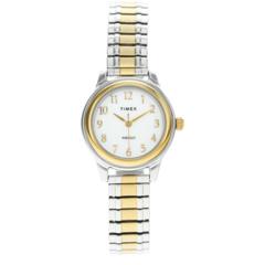 Часы с 28-миллиметровым ремешком из нержавеющей стали Timex