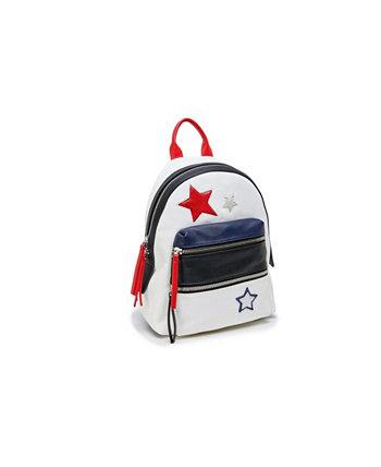 Маленький рюкзак в стиле пэчворк со звездой LIKE DREAMS