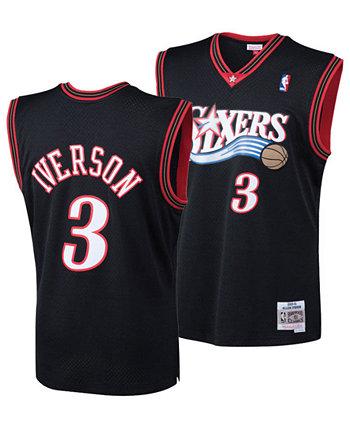 Джерси Big Boys Allen Iverson Philadelphia 76ers Hardwood Classic Swingman Mitchell & Ness