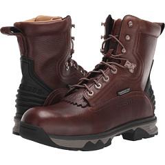 Рабочие ботинки на шнуровке 8 дюймов - защитный носок из композитного материала и водонепроницаемые Lucchese