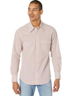 Рубашка на кнопках с длинным рукавом с принтом B2S8082 Rock and Roll Cowboy