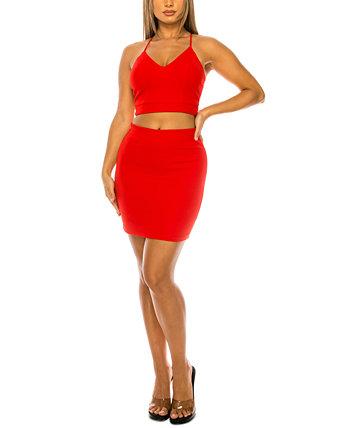 2-шт. Юниоров. Облегающее платье с кружевной спинкой B Darlin