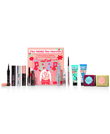 12-шт. Набор адвент-календаря The More The Merrier Beauty Benefit Cosmetics