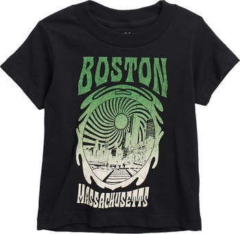 Boston Sun Graphic T-Shirt Kid Dangerous
