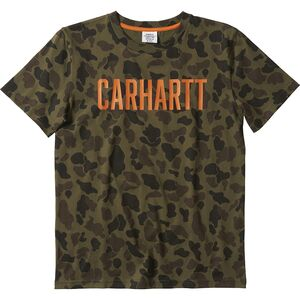 Футболка Carhartt с камуфляжным принтом Carhartt