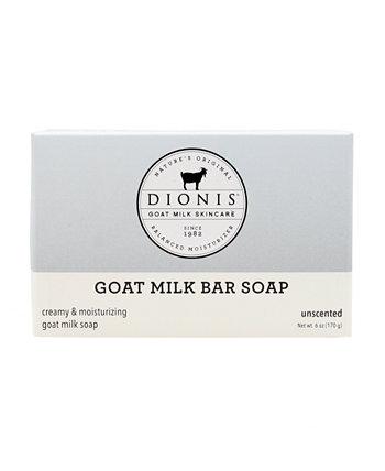 Кусковое мыло без запаха с козьим молоком, 6 унций Dionis
