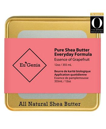 Универсальный увлажняющий крем с маслом ши для лица, тела и волос для сухой кожи Eu'Genia Shea