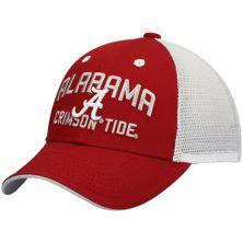 Toddler Crimson Alabama Crimson Tide Lockup Meshback Snapback Hat Outerstuff