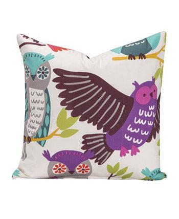 20-дюймовая дизайнерская декоративная подушка Owl Always Love You Crayola