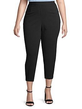 Plus Slim Cropped Pants Calvin Klein
