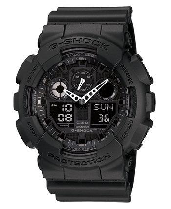Мужские часы из черной пластмассы, 55 мм G-Shock