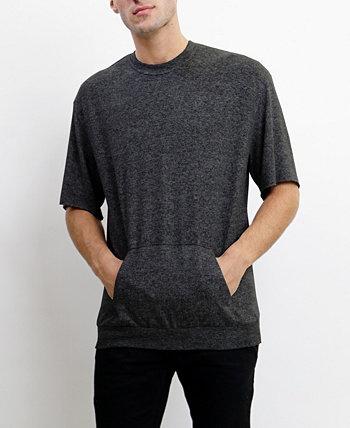 Мужская ультрамягкая легкая карманная футболка с коротким рукавом COIN 1804