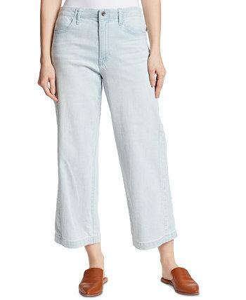 Cropped Wide Leg Jeans Ella Moss