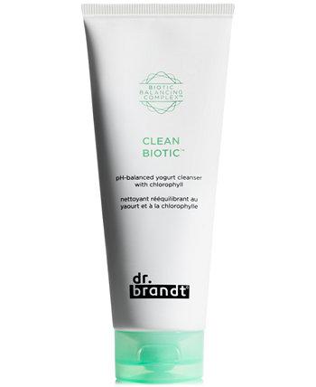 Clean Biotic рН-сбалансированное очищающее средство для йогурта с хлорофиллом, 3,5 унции. Dr. Brandt