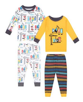 Комплект пижамы из 4 предметов для мальчиков Koala baby