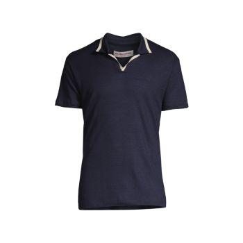 Льняная рубашка-поло Felix ORLEBAR BROWN