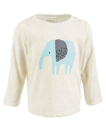 Хлопковый топ со слоном для мальчиков First Impression, созданный для Macy's First Impressions