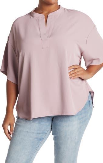 Блузка с вырезом под горло MELLODAY