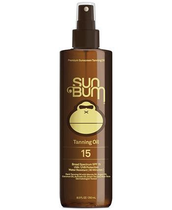 Масло для загара премиум-класса SPF 15, 8,5 унций Sun Bum