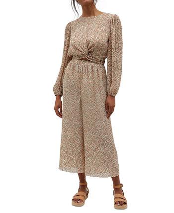 Текстурированные брюки-кюлоты с принтом Lydia MINKPINK