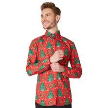 Мужская рубашка Suitmeister Christmas Trees Suitmeister