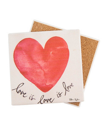 Love is Love is Love Coaster THIRSTYSTONE
