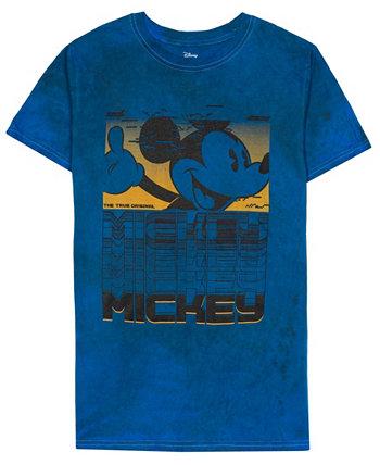 Мужская футболка с коротким рукавом Glitch Mickey Tie Dye Hybrid