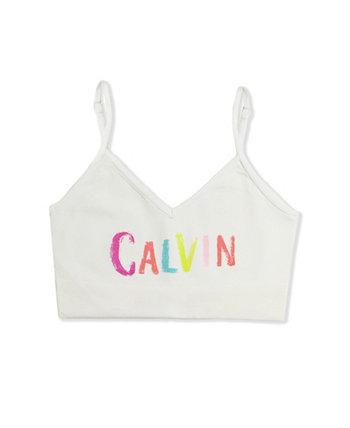 Бесшовный бюстгальтер без косточек для маленьких и больших девочек Calvin Klein