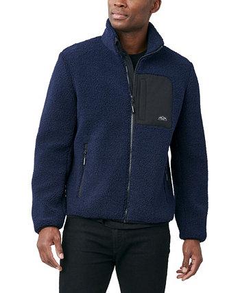 Мужская флисовая куртка из шерпы Halifax