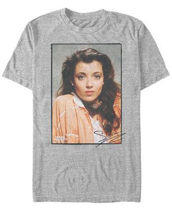 Мужская футболка Ferris Buller's Day Off с надписью Sloane с коротким рукавом Paramount