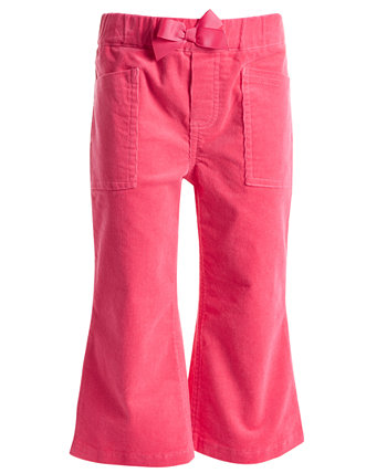 Вельветовые брюки с расклешенными штанинами для маленьких девочек, созданные для Macy's First Impressions