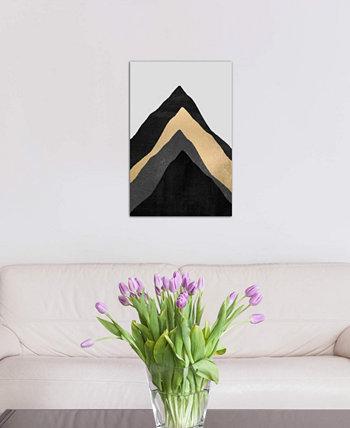 """Картина """"Четыре горы"""" Элизабет Фредрикссон на холсте в упаковке (26 x 18 x 0,75) ICanvas"""