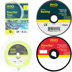 RIO Line, Leader, Tippet Package RIO