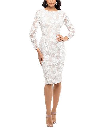 Кружевное сутажное платье XSCAPE