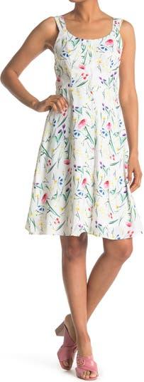 Платье с цветочным принтом на спине Papillon
