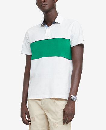 Мужская футболка-поло Lenny с цветными блоками на заказ Tommy Hilfiger