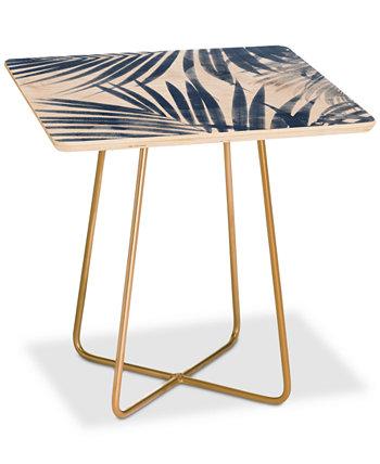 Приставной столик Emanuela Carratoni Serenity Palms Square Deny Designs