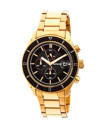 Кварцевые часы Maverick с золотым сплавом 43мм Breed