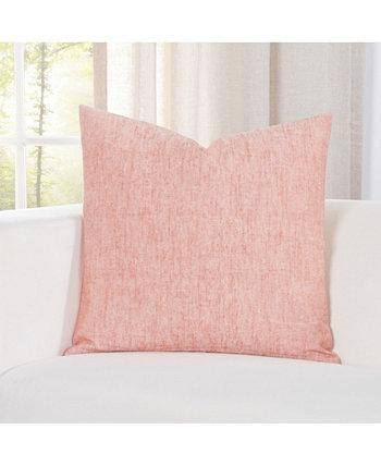 Дизайнерская декоративная подушка Pacific Apricot Linen 20 дюймов Siscovers