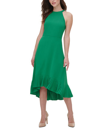 Pleated Midi Dress Kensie