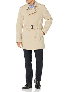 Двубортное пальто от дождя Strike 36 дюймов Stacy Adams