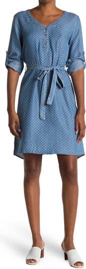 Платье-рубашка Azul с длинным рукавом Velvet Heart
