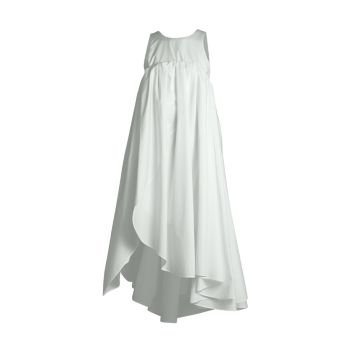Асимметричное шелковое платье без рукавов Nina Ricci