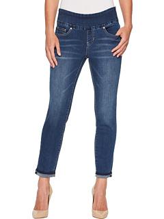 Узкие джинсы до щиколотки Amelia без застежки Jag Jeans