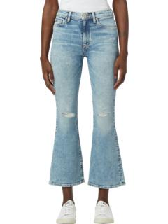 Обрезанные летом ботинки Barbara с высокой талией Hudson Jeans