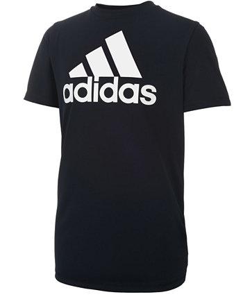 Футболка с логотипом и принтом Big Boys Adidas