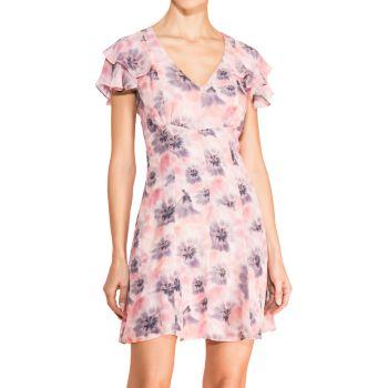 Мини-платье Elena с цветочным принтом Parker