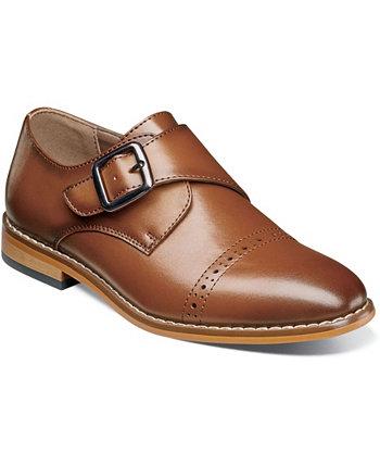Обувь Little Boy Desmond Cap Toe Monk с ремешком Stacy Adams